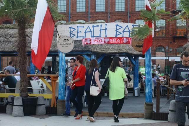 Beach Bar na plaży Manufaktury