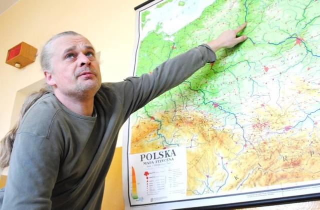 -Kiedy Krzyżacy opuścili nasze ziemie, lokalni kupcy i mieszczanie zaczęli się bogacić - mówi Mariusz Żebrowski