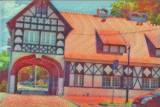 Park Dworski w Iłowej oczami malarzy fowistów. Piękne, żywe kolory i śmiałe plany. Tak mógłby widzieć te cudowne krajobrazy Henri Matisse