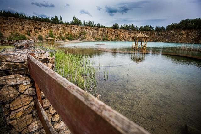 Park Gródek zachwyca. Warto wybrać się tutaj na spacer.  Zobacz kolejne zdjęcia. Przesuń zdjęcia w prawo - wciśnij strzałkę lub przycisk NASTĘPNE