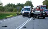Śmiertelny wypadek na berlince. Zginął motorowerzysta