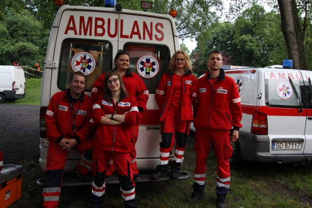 Ratownicy medyczni z OSP Śródmieście będą dyżurować w wakacje nad Pogorią III