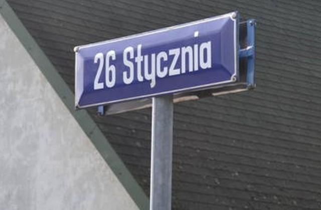 Ulica 26 stycznia może zmienić nazwę na 20 stycznia