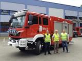 Wronieccy strażacy cieszą się nowym wozem bojowym