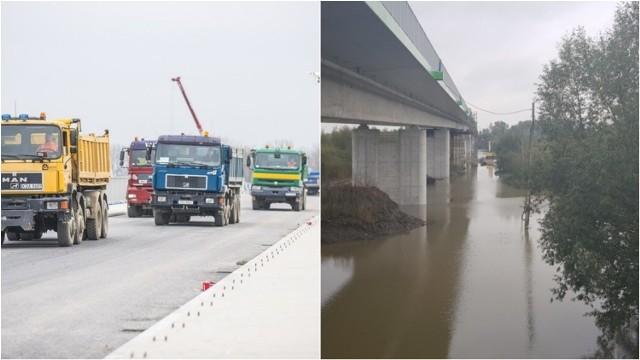 Most na Wiśle między Borusową a Nowym Korczynem ma 700 metrów długości. Prace przy nim zbliżają się do końca