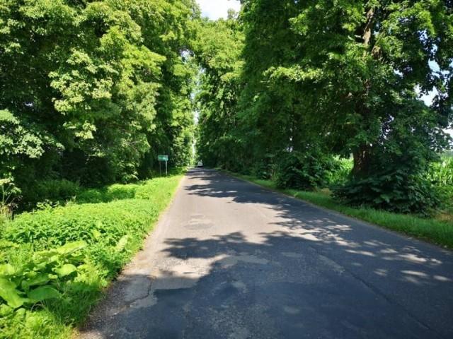 Trasa, przy jakiej ma przebiegać ścieżka rowerowa.