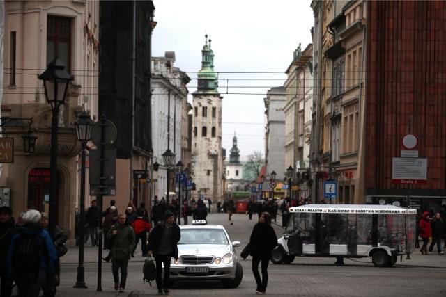Czy taksówki będą mogły jeździć ul. Grodzką?