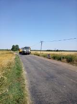 Gmina Chocz. Rozpoczął się remont drogi powiatowej nr 4310P Chocz – Białobłoty