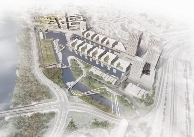 Zupełnie nowa część dzielnicy powstaje tuż przy Stadionie Narodowym na terenach Portu Praskiego. Znajdzie się tam ekskluzywne osiedle, wieżowce, deptaki i przystań dla łodzi. Był nawet pomysł, aby na drugą stronę rzeki przejeżdżać kolejką linową.  Zobacz też: Powstaje Port Praski. Czy nowa inwestycja przeniesie centrum Warszawy bliżej rzeki?