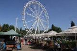 Objazdowy lunapark w Parku Sieleckim znów robi furorę wśród mieszkańców.