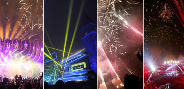 Oceniamy sylwestrowe imprezy w największych polskich miastach.