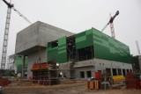 Na budowie bydgoskiej ekoelektrociepłowni praca wre [ZDJĘCIA]
