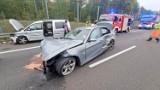 Trzy osoby w szpitalu po wypadku na S3 w Głębokim. To kolejna kraksa w tym miejscu [NOWE FAKTY/ZDJECIA]