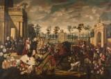 Obrazy Hochbergów wracają do zamku Książ (ZDJĘCIA)