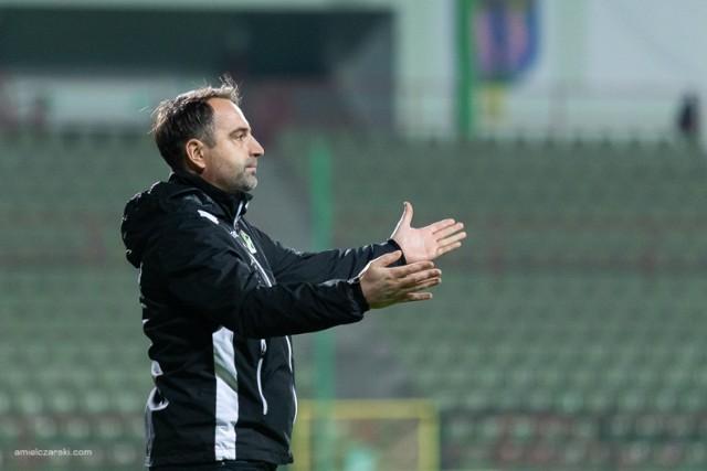 Marcin Węglewski jest trenerem GKS Bełchatów