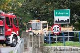 Kraksa ciężarówek pod Lubominem (ZDJĘCIA)