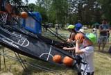 Mieszkańcy mogli powitać lato razem z Lechią Zielona Góra. Na miejskim kąpielisku przygotowano sporo sportowych atrakcji