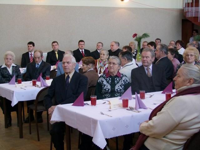 W spotkaniu wzięło udział kilkadziesiąt osób z całej gminy