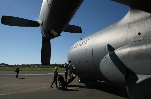 Na Babich Dołach, w 43. Bazie Lotnictwa Morskiego, którą zobaczą  uczestnicy rajdu lądowały największe samoloty transportowe
