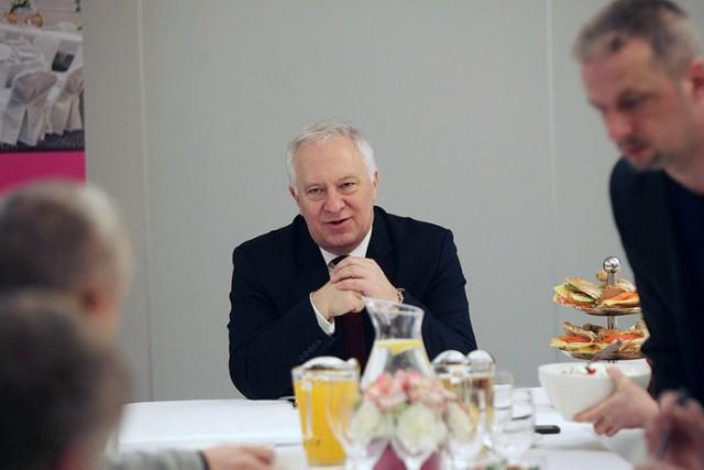 Prezydent Tadeusz Krzakowski spotkał się z dziennikarzami