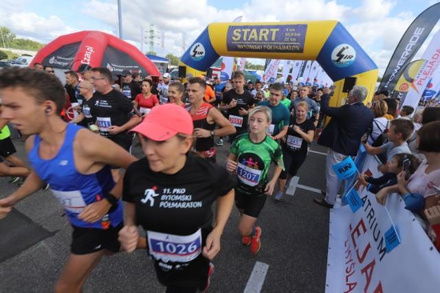 11 PKO Bytomski Półmaraton - zdjęcia uczestników