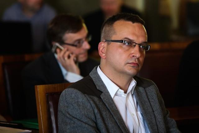 Łukasz Wantuch jest radnym drugą kadencję