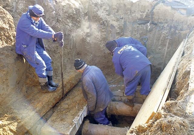 Dotarcie do miejsca, w którym doszło do awarii, sprawiło pracownikom niemało trudności