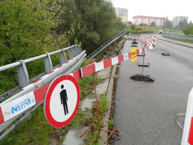 Zerwany most zostanie naprawiony, ale prędko to nie nastąpi