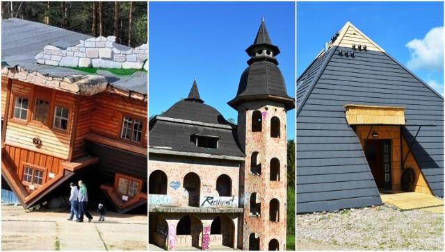5 niezwykłych budowli na Pomorzu. Koniecznie musisz je odwiedzić. Piramidy, zamek w Łapalicach, krzyżacka warownia, czy dom do góry nogami przyciągają turystów.