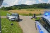 Powiat jasielski. Motocykliści ranni w wypadkach, policja apeluje do uczestników ruchu