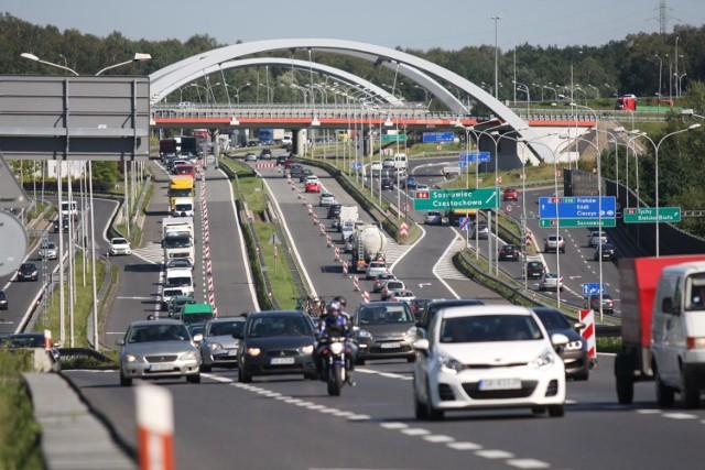 Remont A4 w Katowicach potrwa do końca listopada