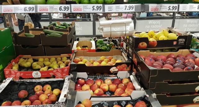 Astronomiczne ceny jabłek w Lidlu