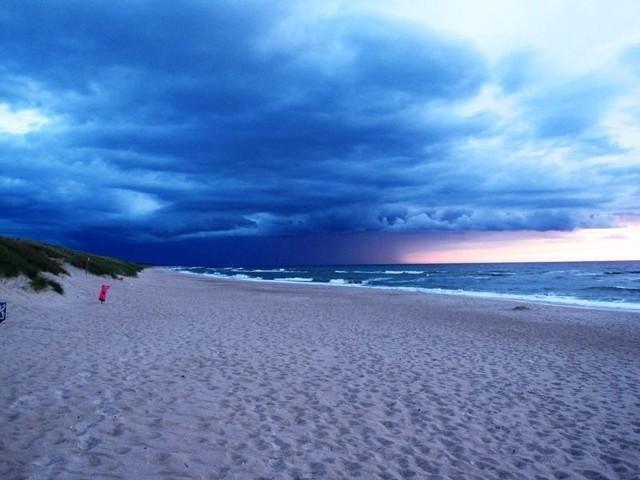 Plaża w Darłowie - ZDJĘCIA