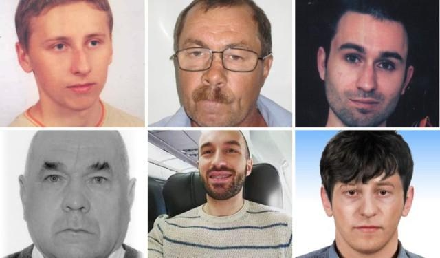 Lista zaginionych mężczyzn z Małopolski. Szuka ich małopolska policja [ZDJĘCIA, RYSOPISY]