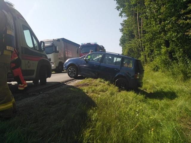 Do zdarzenia doszło na DK 73 w miejscowości Lubasz