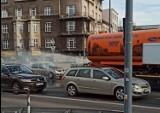 Kraków. Polewaczka z krakowskiego MPO wzięła udział w... akcji pożarniczej
