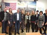 I LO w Kaliszu. Włosi odwiedzili Asnyka w ramach programu Erasmus+