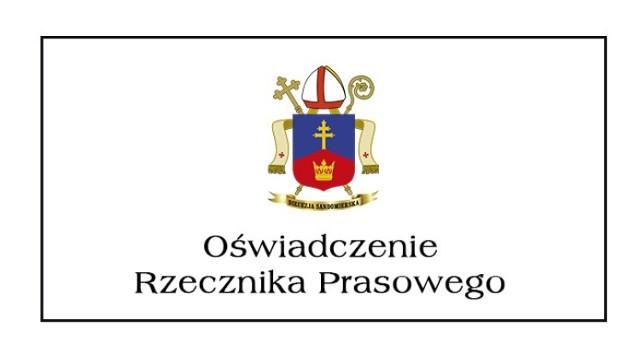 Jest  reakcja Rzecznika Diecezji Sandomierskiej w sprawie podjętego przez radnych Sandomierza Apelu Broniącego Praw Kobiet