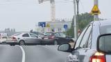 Toruń. Kolizja przed wiaduktem Kościuszki! Są utrudnienia w ruchu