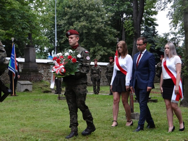 Obchody rocznicy wybuchu Powstania Warszawskiego w Olkuszu, 2021 r