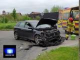 Gniezno. Wypadek na skrzyżowaniu ulic Wierzbowej i Surowieckiego. Kobieta trafiła do szpitala