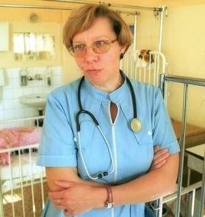 - Umieralność w Polsce na nowotwory piersi sięga 50 proc. - mówi doktor Ewa Wizgird. - I tylko profilaktyka może to zmienić.   FOT. MARCIN OLIVA SOTO