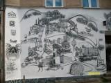 Piaskowa Góra w pigułce na muralu [Zdjęcia]