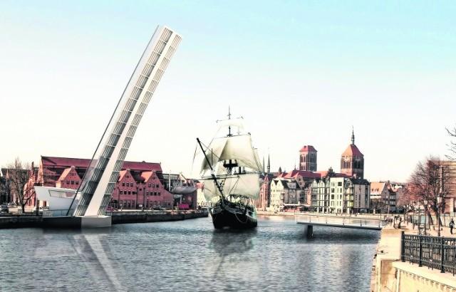 Ten projekt kładki na wyspę Ołowiankę zwyciężył w międzynarodowym konkursie ogłoszonym przez władze Gdańska.