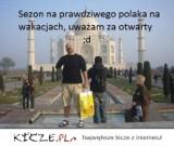 Jesteś typowym polskim turystą na wakacjach? Sprawdź! [MEMY]