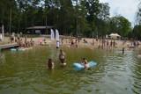 """Aktywne popołudnie nad jeziorem Lednik w Miastku pod hasłem """"Bezpieczne wakacje bez smartfona"""""""