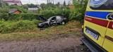 Śmiertelny wypadek na ul. Chemicznej w Bydgoszczy. Samochód wjechał w pieszego [zdjęcia]