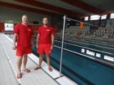 Pływalnia Kasztelanka w Międzyrzeczu już na Was czeka! Ratownicy: Piotr i Robert w pełnej gotowości