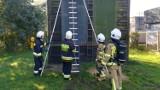 W stargardzkiej komendzie straży pożarnej odbył się egzamin szkolenia podstawowego strażaków ratowników OSP 2021