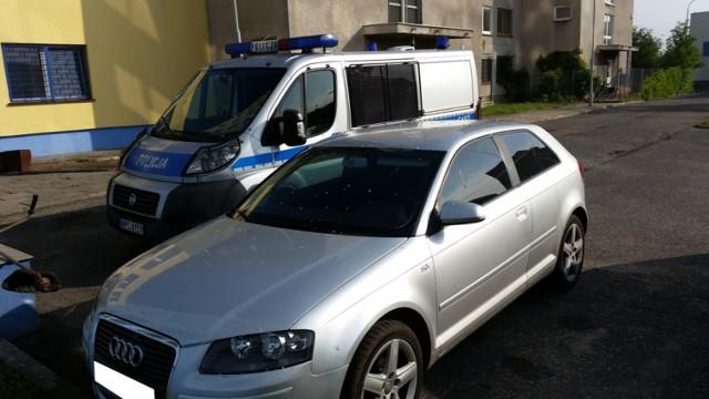 Włocławek: Policjanci odzyskali skradzione auto [ZDJĘCIA]